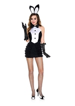 Mrs Tux Bunny Woman Costume