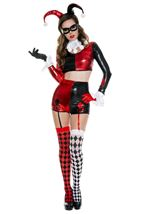 Gorgeous Harlequin Woman Costume
