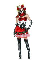 Miss Muerta Day Of Dead Woman Costume