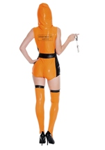Adult Most Wanted Prisoner Woman Costume