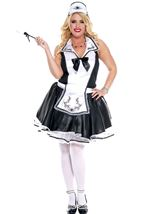 Elegant French Maid Plus Size Woman Costume