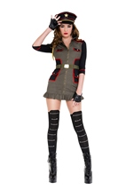 General Curve Geous Woman Costume