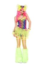 Dazed Go Go Dancer Woman Costume