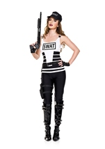 Sassy Swat Woman Costume