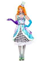 Miss Mad Hatter Woman Costume