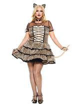 Plus Size Cheeky cheetah Women Costume
