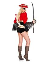 Adult Lady Of The Sea Woman Pirate Costume