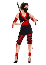 Fierce Ninja Warrior Woman Costume