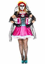 Dead Catrina Woman Plus Size Costume