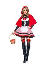 Sweet Riding Hood Woman Costume