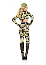 Adult Commando Soldier Woman Army Costume