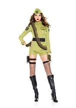 Army Sergeant Woman Costume