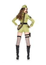 Adult Army Sergeant Woman Costume