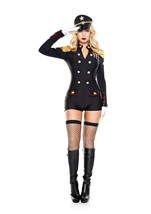 Military General Woman Costume