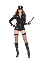 Cop Woman Police Officer Costume