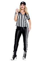 Plus Size Half Time Referee Woman Costume
