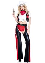 Western Cowgirl Rider Woman Costume