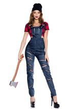 Lady Lumberjack Woman Costume