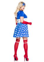 Plus Royal America Woman Hero Costume