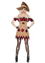 Living Scarecrow Woman Costume