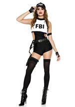 FBI Detective Woman Costume