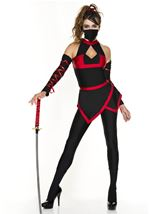 Walker of Shadows Woman Ninja Costume
