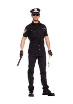 Police Officer Men Costume