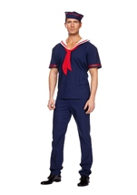 Adult Ahoy Matie Men Costume