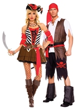 Buccaneer Pirate Men Costume
