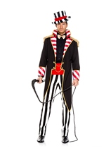 Dark Ringmaster Men Costume