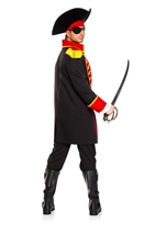 Adult Pirate Captain Men Costume