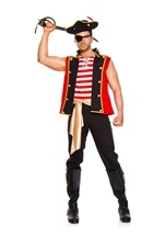 Plunderous Pirate Men Costume
