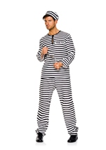 Prison Mate Men Costume