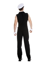 Airline Pilot Men Halloween Costume Black