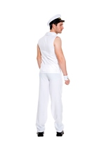 Adult Airline Pilot Men Costume White