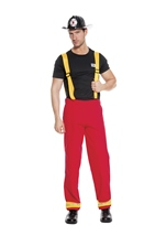 Firefighter Hero Men Costume