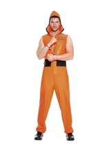 Escaped Convict Men Costume