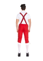 Adult German Beer Men Red Costume