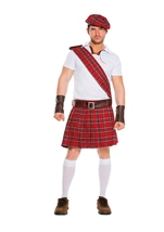Traditional Scottish Men Costume