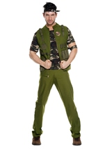 Army General Men Costume