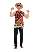 Mexican Tequila Shooter Men Costume