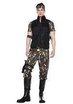 Army Soldier Men Costume
