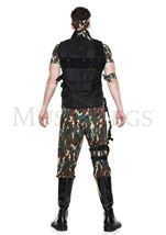 Adult  Army Soldier Men Costume