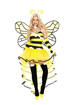 Deluxe Queen Bee Woman Costume