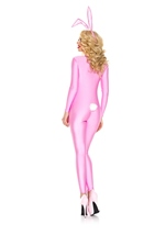 Adult Pink Bunny Woman Costume