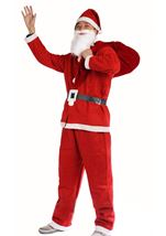 Adult Santa Claus Men Christmas Costume