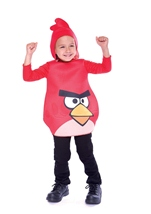 Toddler Red Angry Bird Costume