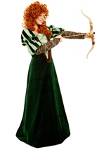 Woman Forest Princess Brave  Costume