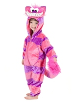 Kids Cheshire Cat Deluxe Plush Costume