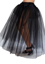 Full Length Black Petticoat
